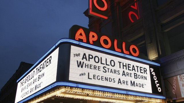 Apollo Theater Facade, 2008