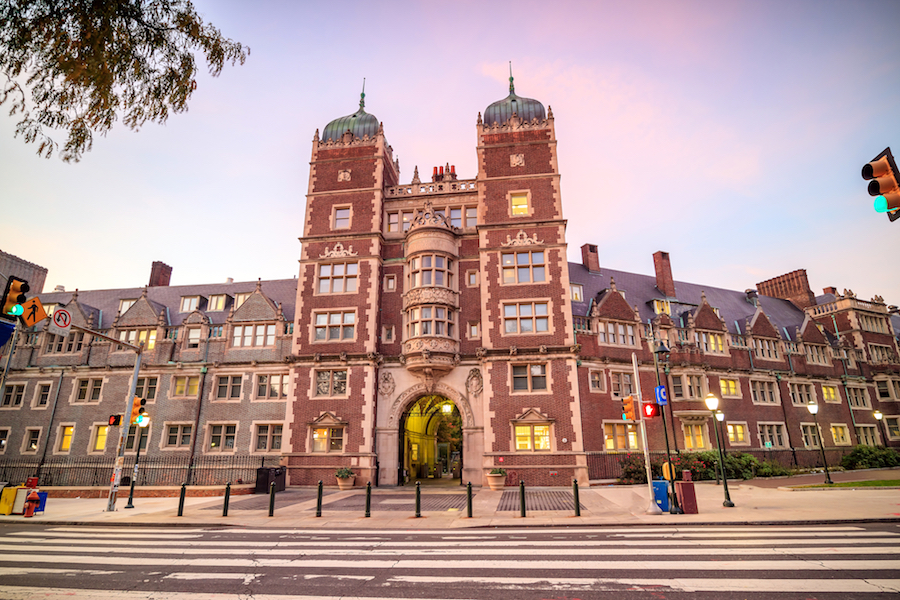 University of Pennsylvania in Philadelphia, Pennsylvania USA