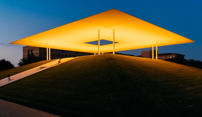 James Turrell's Skyspace at Rice University, Houston